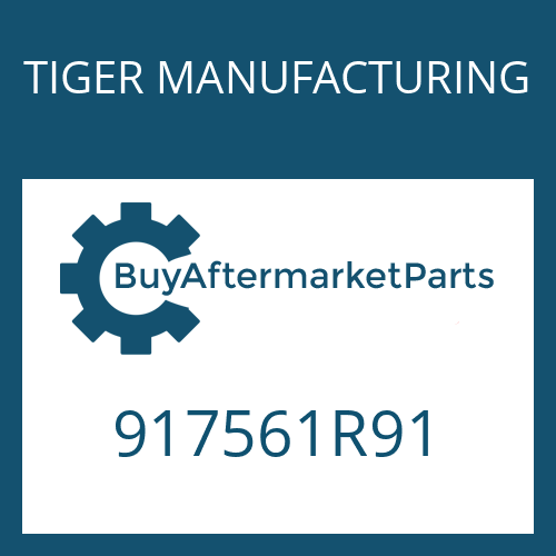 TIGER MANUFACTURING 917561R91 - DISC & PLATE L/S
