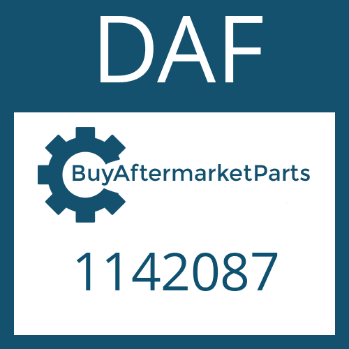 DAF 1142087 - BOLT  M14-1.5   FLANGED