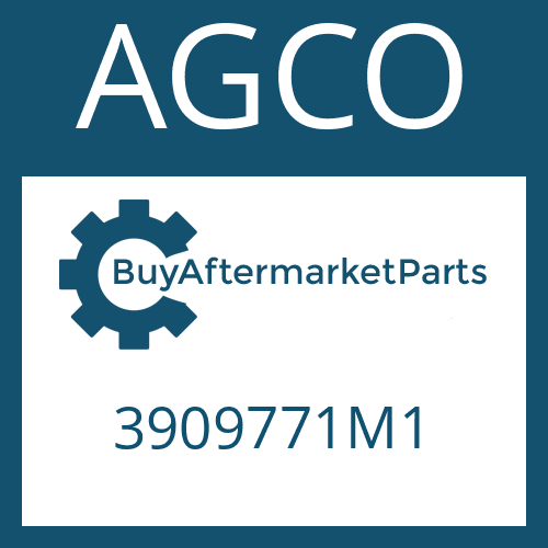 AGCO 3909771M1 - SELF LOCKING NUT