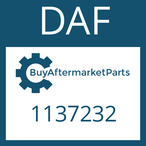 DAF 1137232 - Midship Assembly with Center Bearing