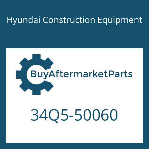 Hyundai Construction Equipment 34Q5-50060 - PIPE ASSY-HYD