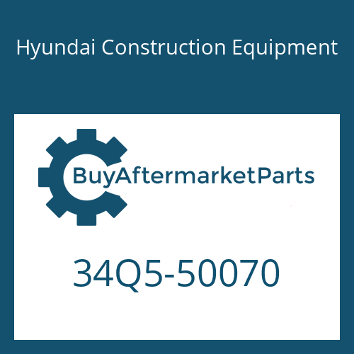 Hyundai Construction Equipment 34Q5-50070 - HOSE ASSY-H/PRESSURE
