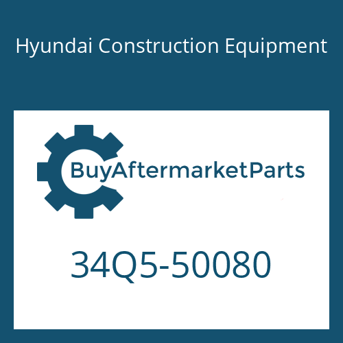 Hyundai Construction Equipment 34Q5-50080 - HOSE ASSY-H/PRESSURE