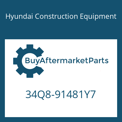 Hyundai Construction Equipment 34Q8-91481Y7 - PIPING KIT-HYD