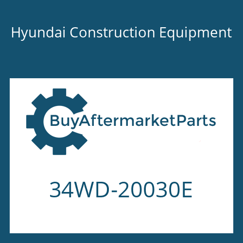Hyundai Construction Equipment 34WD-20030E - CYLINDER ASSY-BUCKET