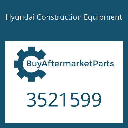 Hyundai Construction Equipment 3521599 - HOUSING-TURBINE
