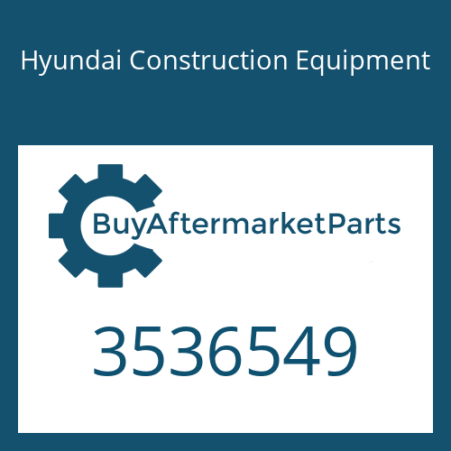 Hyundai Construction Equipment 3536549 - SCREW-CAP