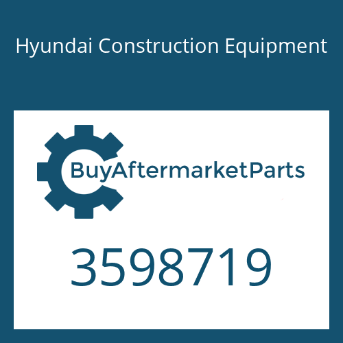 Hyundai Construction Equipment 3598719 - HOUSING-COMPRESSOR