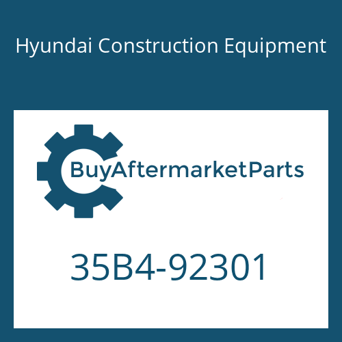 Hyundai Construction Equipment 35B4-92301 - BRACKET