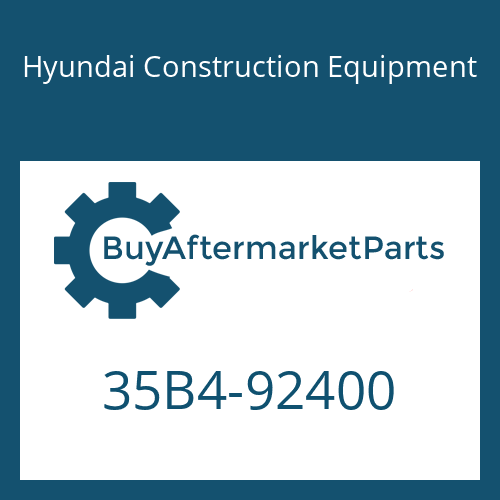 Hyundai Construction Equipment 35B4-92400 - BRACKET