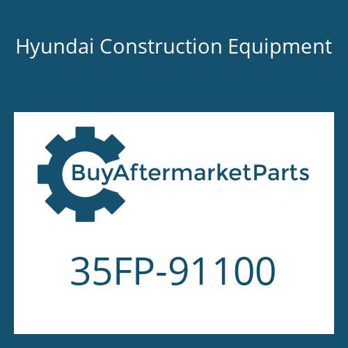 Hyundai Construction Equipment 35FP-91100 - SPACER