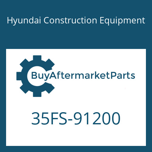 Hyundai Construction Equipment 35FS-91200 - CLAMP-HOSE