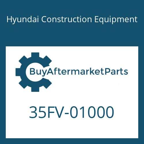 Hyundai Construction Equipment 35FV-01000 - VALVE-CONTROL FLOW