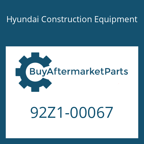Hyundai Construction Equipment 92Z1-00067 - DECAL KIT-A