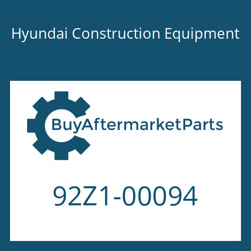 Hyundai Construction Equipment 92Z1-00094 - DECAL KIT-AS