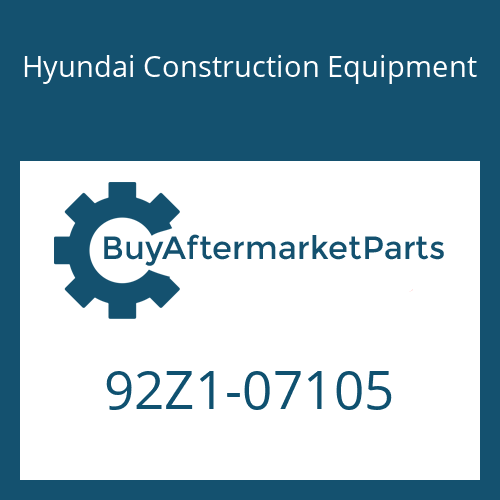 Hyundai Construction Equipment 92Z1-07105 - DECAL KIT-B