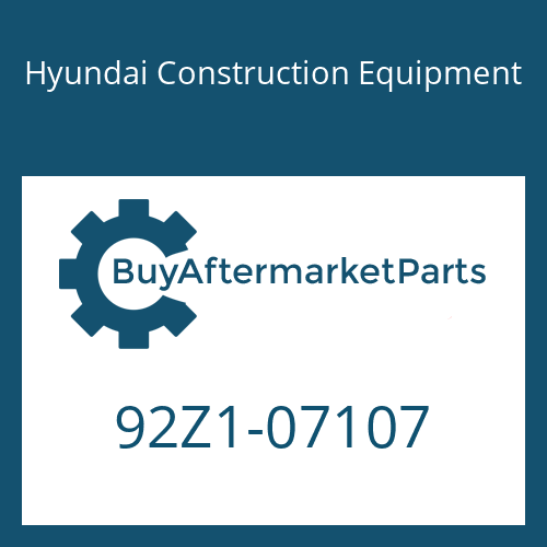 Hyundai Construction Equipment 92Z1-07107 - DECAL KIT-B