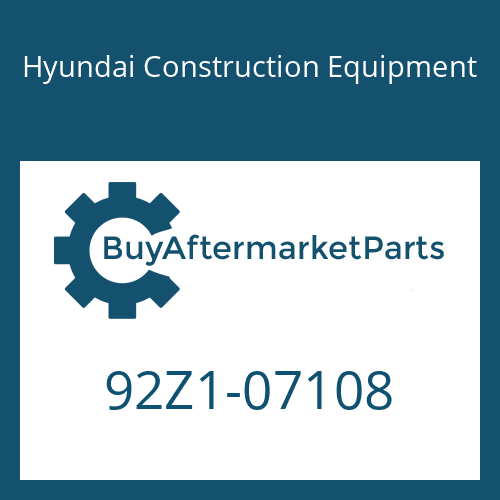 Hyundai Construction Equipment 92Z1-07108 - DECAL KIT-B