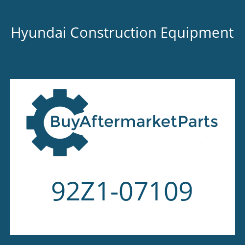 Hyundai Construction Equipment 92Z1-07109 - DECAL KIT-B