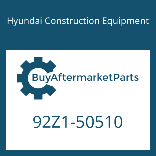Hyundai Construction Equipment 92Z1-50510 - DECAL-SPECSHEET