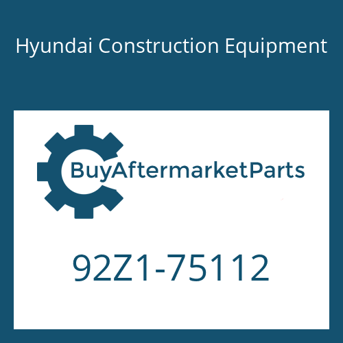 Hyundai Construction Equipment 92Z1-75112 - DECAL-MODEL NAME LH