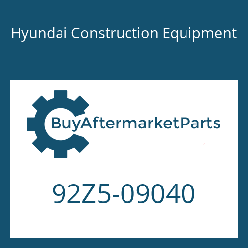 Hyundai Construction Equipment 92Z5-09040 - DECAL-SIDE GRAPHIC LH