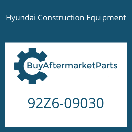Hyundai Construction Equipment 92Z6-09030 - DECAL-GRAPHIC RH