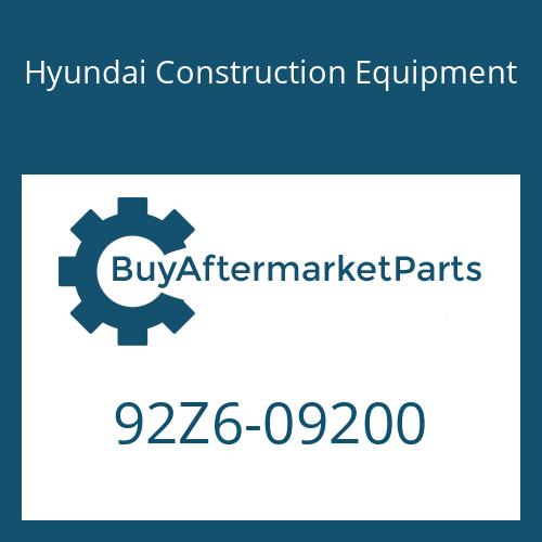 Hyundai Construction Equipment 92Z6-09200 - DECAL KIT-B
