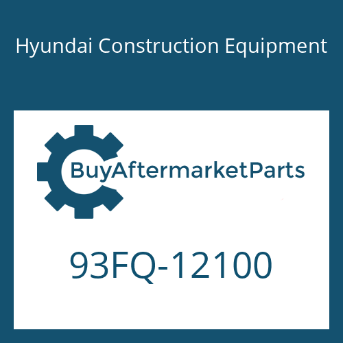 Hyundai Construction Equipment 93FQ-12100 - DECAL-MODEL NAME