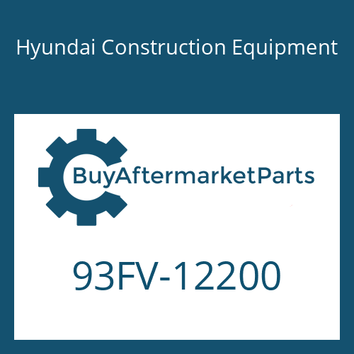 Hyundai Construction Equipment 93FV-12200 - DECAL-MODEL NAME