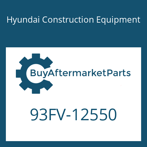 Hyundai Construction Equipment 93FV-12550 - DECAL-MODEL NAME