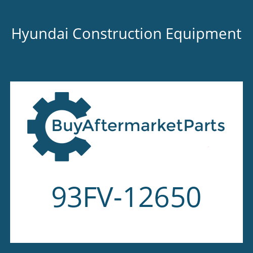 Hyundai Construction Equipment 93FV-12650 - DECAL-MODEL NAME
