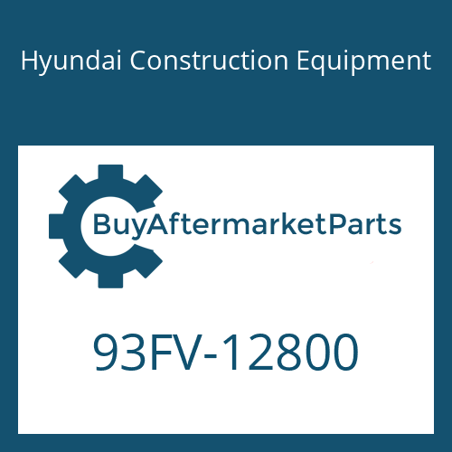 Hyundai Construction Equipment 93FV-12800 - DECAL-MODEL NAME