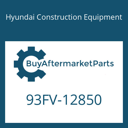 Hyundai Construction Equipment 93FV-12850 - DECAL-MODEL NAME