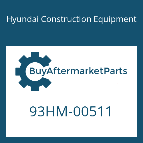 Hyundai Construction Equipment 93HM-00511 - DECAL-REFERENCE LH