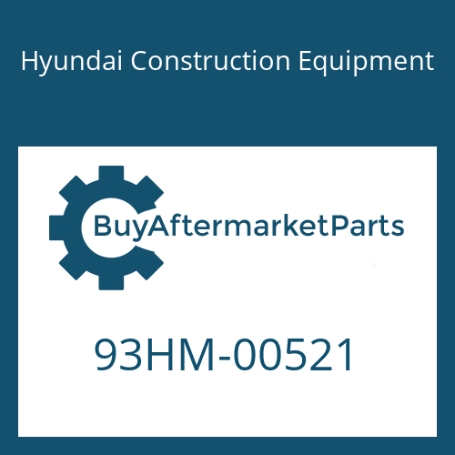 Hyundai Construction Equipment 93HM-00521 - DECAL-REFERENCE RH