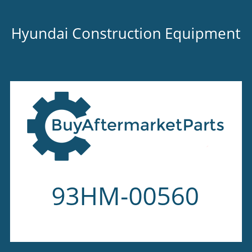 Hyundai Construction Equipment 93HM-00560 - DECAL-REFERENCE RH