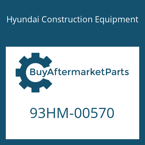 Hyundai Construction Equipment 93HM-00570 - DECAL-REFERENCE