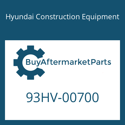 Hyundai Construction Equipment 93HV-00700 - DECAL-OVERALL WEIGHT