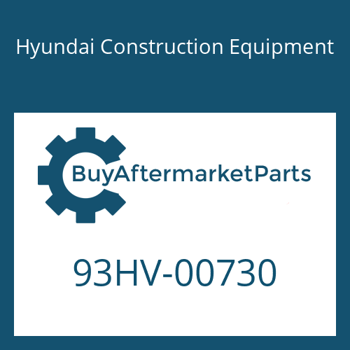 Hyundai Construction Equipment 93HV-00730 - DECAL-OVERALL WEIGHT
