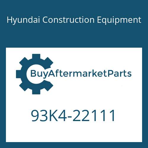 Hyundai Construction Equipment 93K4-22111 - DECAL-NOISE LWA