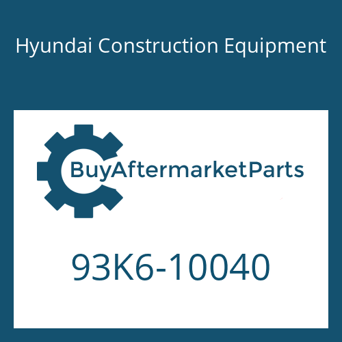 Hyundai Construction Equipment 93K6-10040 - DECAL-MODEL NAME LH