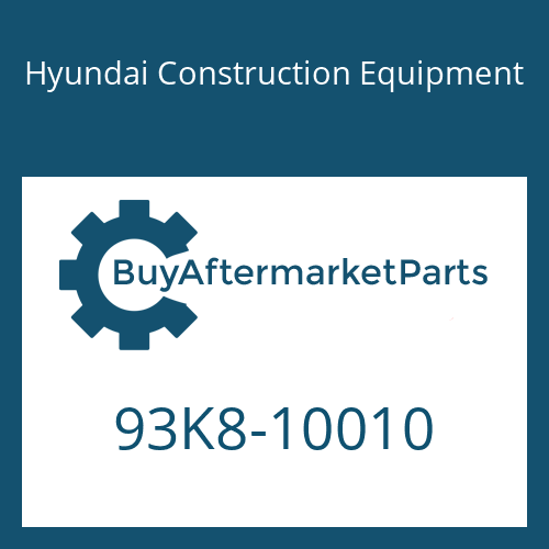 Hyundai Construction Equipment 93K8-10010 - DECAL-MODEL NAME-LH