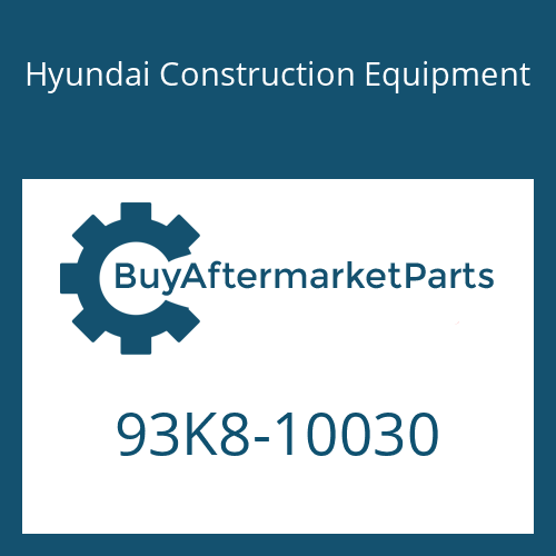 Hyundai Construction Equipment 93K8-10030 - DECAL-MODEL NAME-LH