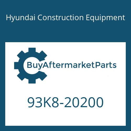Hyundai Construction Equipment 93K8-20200 - Decal Kit(B)