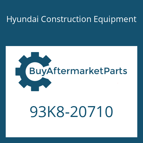 Hyundai Construction Equipment 93K8-20710 - DECAL-SERVICE INSTRUCTION