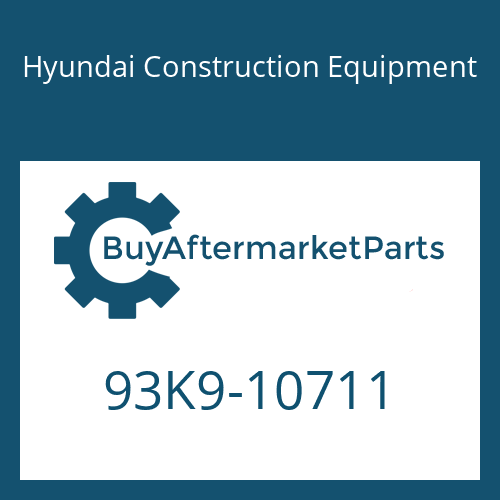 Hyundai Construction Equipment 93K9-10711 - DECAL-SERVICE INSTRUCTION