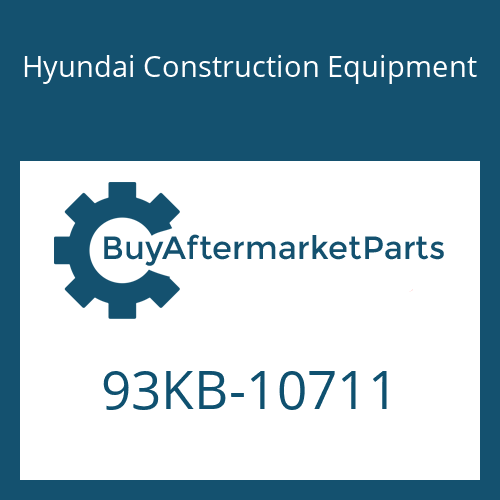 Hyundai Construction Equipment 93KB-10711 - DECAL-SERVICE INSTRUCTION