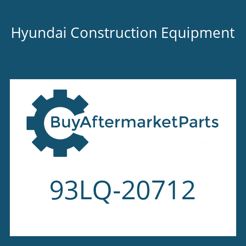 Hyundai Construction Equipment 93LQ-20712 - DECAL-SERVICE INSTRUCTION