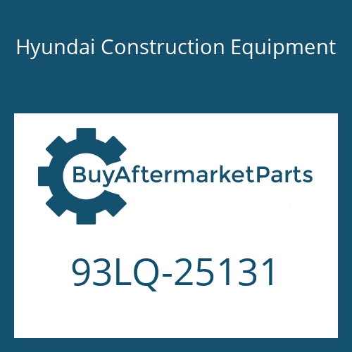 Hyundai Construction Equipment 93LQ-25131 - DECAL-MODEL NAME